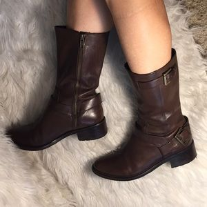 Cole haan mid calf boots